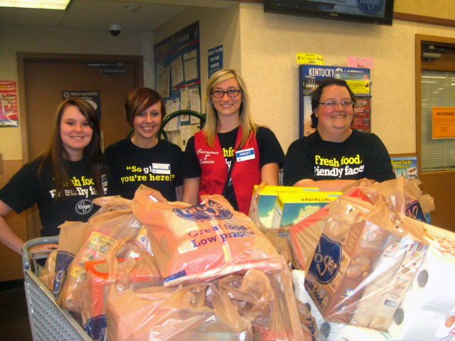 Kroger Donation Collection Team